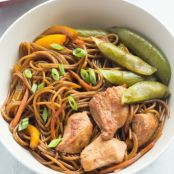 Teriyaki Chicken and Noodles (One Pan)