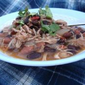 Jerre's Black Bean and Pork Tenderloin Chili