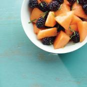 Blackberry-Cantaloupe Salad