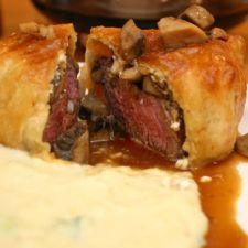 Beef Wellingtons with Gorgonzola