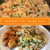 Fried Rice in an Instant Pot