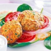 Beef & Chickpea Patties