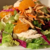Chinese Chicken Salad, Made Lite