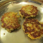 Sides - Eggplant Fritters