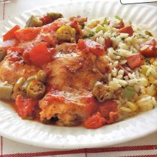 Weight Watchers Creole Chicken Thighs - 6 Points
