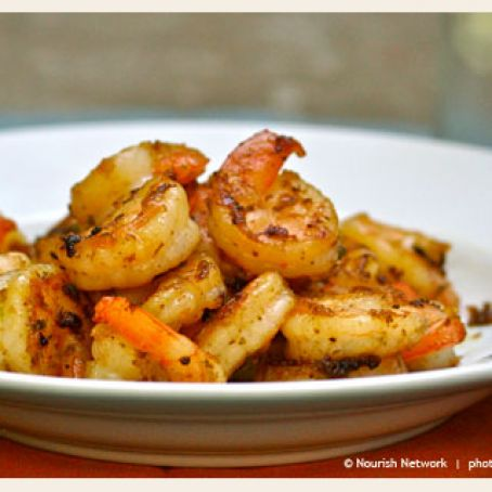 Sweet & Spicy Sugarcane Shrimp