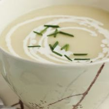Vichyssoise (Cold Leek and Potato Soup)