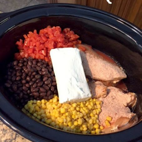 Fiesta Chicken Crock Pot Recipe 3 9 5
