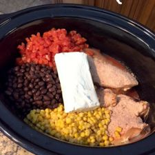 Fiesta Chicken Crock Pot