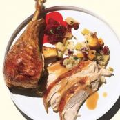 Salted Roast Turkey with Orange and Fall Spices