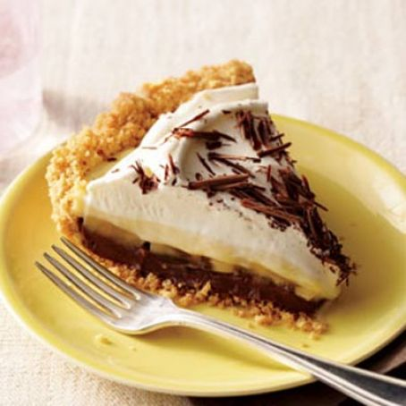 Black Bottom Banana Cream Pie (Rachaell Ray)