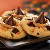 Funfetti® Halloween Peanut Butter & Chocolate Cookies