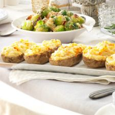 Twice Baked Potatoes Supreme