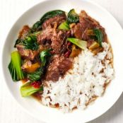 Slow-Cooker Chinese Beef and Bok Choy