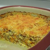 Cheesey Quinoa and Squash