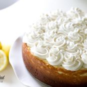 New York Style Lemon Cheesecake