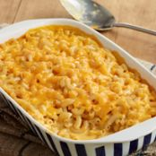 Super Cheesy Baked Macaroni & Cheese