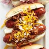 Jamie's Chipotle Chili Cheese Dogs