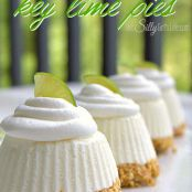 Individual No Cook Key Lime Pies