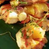 Island Shrimp and Pineapple Skewers with Rum Butter Sauce