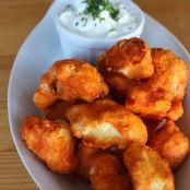 Prepare to Be Fooled by These Crispy Cauliflower Buffalo Wings