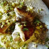 Lemon Chicken With Couscous & Zucchini