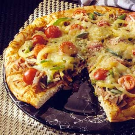 Quick & Easy Beef Pizza