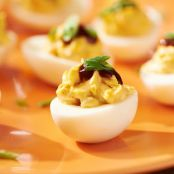 Smoky Bacon BBQ Deviled Eggs