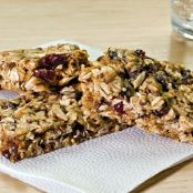 Chewy Fruit & Flax Granola Bars
