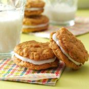 Oatmeal Sandwich Cookies Recipe