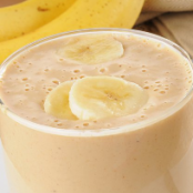 Smoothie: Skinny Peanut Butter-Banana