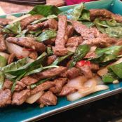Thai Beef and Basil