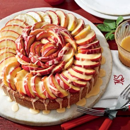 The No-Peel Apple Cake