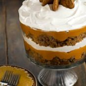 Paula Deen's Pumpkin Gingerbread Trifle