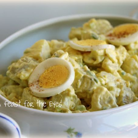 Classic Potato Salad (adapted for pressure cooking)
