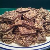 Saltine Toffee Bark