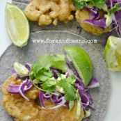 Beer-Battered Baja-Style Cauliflower Tacos Recipe