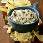 Potato and Bacon Dip, Garlic Roasted