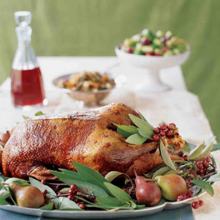 Martha Stewart Roasted goose
