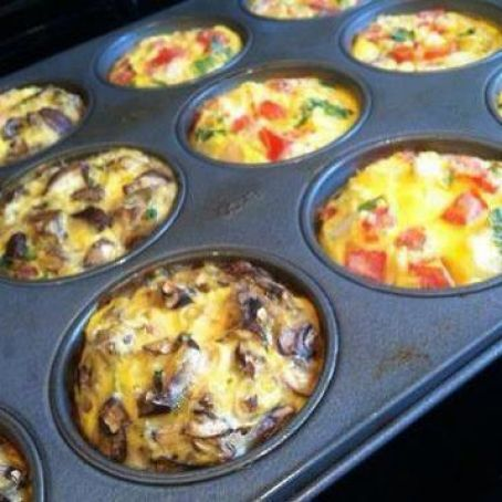 Breakfast Egg Muffins To Go