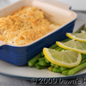 Baked Haddock with a Ritz Cracker Crust
