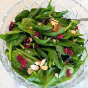 Spinach Salad with Orange Balsamic Vinaigrette