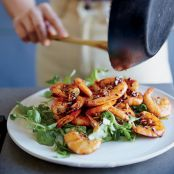 Sautéed Shrimp in Fish Sauce Caramel