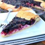 Blueberry & Cream Cheese Galette