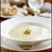 30-Minute Creamy Crab Soup
