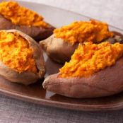Healthy Baked Sweet Potatoes