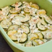 Zucchini Bake with Feta and Thyme