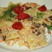 PASTA WITH SMOKED SALMON