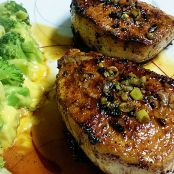 Ginger Garlic Pork Chops