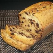 Coconut zucchini chocolate chip bread
